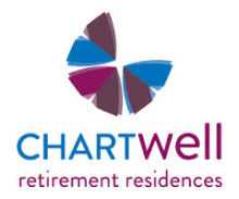 Logo of Chartwell Retirement Residences hiring for jobs in Canada on GrabJobs